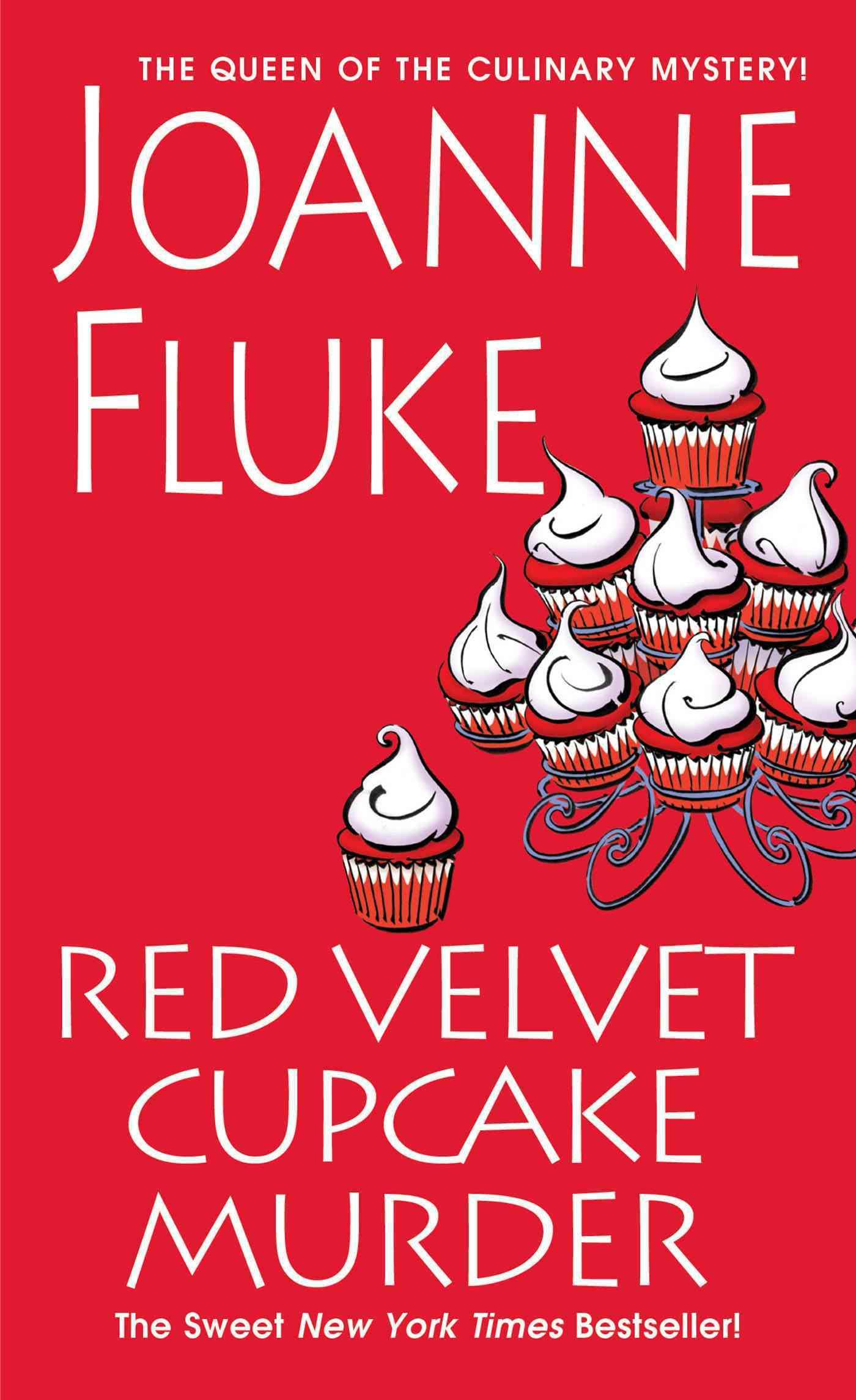 Red Velvet Cupcake Murder By Fluke, Joanne