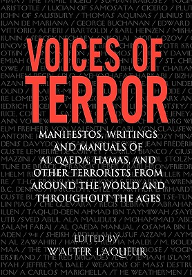 Voices Of Terror By Laqueur, Walter